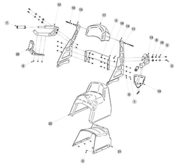 Picture of Dubbeldyna Kimpex Yamaha, Polaris, Arctic & Skidoo
